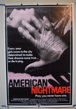 American Nightmare (1983) Horror Poster - US One Sheet